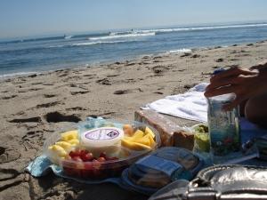 Picknick Malibu Beach